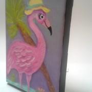 Pink Flamingo Painting4
