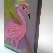 Pink Flamingo Painting5