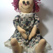 Raggedy Ann Prim Apple Dress