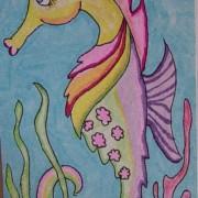 Suzie the seahorse